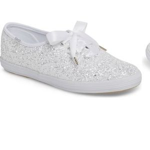 Kate Spade glitter sneaker